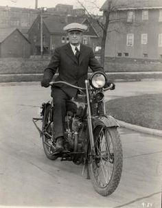 The Racing Department is formed, with William Ottaway as its first Assistant Engineer to racing engineer William S. Harley. Also, the Forecar delivery van is offered for the first time. | Harley-Davidson 1913