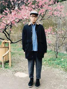 Softman ChenさんのCap「ADLIB 」を使ったコーディネート