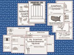 It is time to learn all about our American Symbols this week!         American Symbols     We watched this free video  on Brainpop Jr.     ...