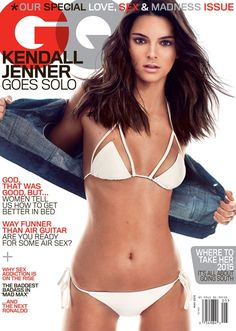 Kendall Jenner is on the new cover of GQ magazine and she looks HOT!