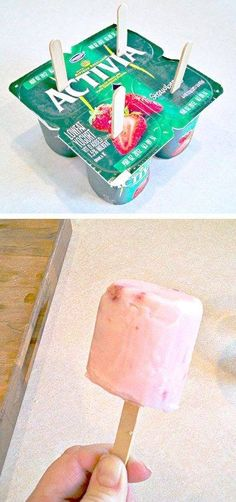 Easy frozen yogurt