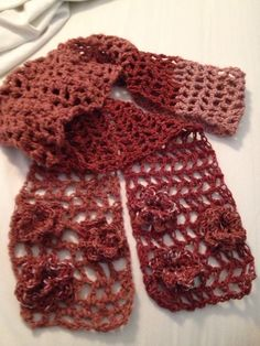 Lacey Summer Scarf made for my daughter.