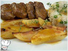 ΨΑΡΟΝΕΦΡΙ ΛΕΜΟΝΑΤΟ ΚΑΤΣΑΡΟΛΑΣ!!! Fun Cooking, Cooking Recipes, Tapas, Pork Tenderloin Recipes, Pork Dishes, Greek Recipes, Allrecipes, Sausage, Recipies