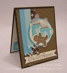 Mmmm... Warm Cocoa and Gingerbread! by hlw966 - Cards and Paper Crafts at Splitcoaststampers