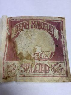 Vintage Dean Markley Acoustic Guitar String #DeanMarkley
