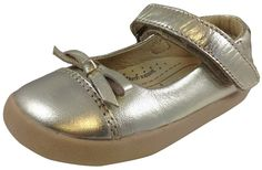 Old Soles Girl's 313 Gold Sista Flat
