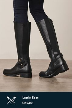 Leather Boat Shoes, Tall Leather Boots, Crew Clothing, Clothing Company, Brown Boots, Black Boots, Slipper Boots, Long Boots, Sexy Boots