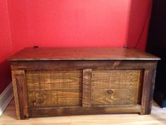 Rustic Handmade Hope Chest