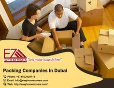 Packing Companies, Companies In Dubai, House Movers, Let It Be, Easy