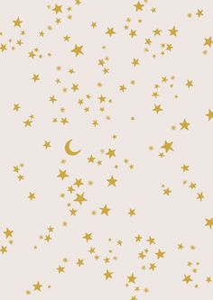Star and moon wallpaper Cute Backgrounds, Cute Wallpapers, Wallpaper Backgrounds, Phone Backgrounds, Aesthetic Iphone Wallpaper, Aesthetic Wallpapers, Star Patterns, Print Patterns, Ciel Art