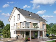 Unse CELBRATION275 V3.  #Haus #Fertighaus #Hausbau #Design #Architektur #Zweifamilienhaus #House #BienZenker