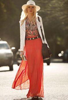 love that skirt Sexy Outfits, Cool Outfits, Spring Summer Fashion, Autumn Fashion, High Fashion Dresses, Dress Fashion, Estilo Fashion, Cute Fashion, Romantic Fashion