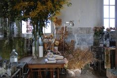 Interior of painter Claire Basler