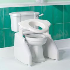 Toilet Seat Lifts for Elderly #AccessibleToiletIdeas >> Discover more ideas at http://www.disabledbathrooms.org/toilet-bidet.html