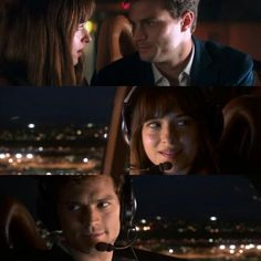 Anastasia, Christian & Charlie Tango... ~ Fifty Shades of Grey Movie...
