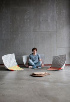 Amazing Materials Focused Works By Sam Linders