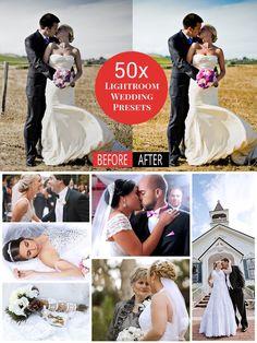 50x Lightroom Wedding Presets. Actions. $10.00