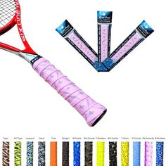 66445f8b0662 Alien Pros X-Tac Tennis Overgrip Tape perfect for your tennis racket