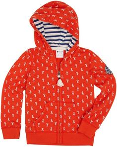 Roxy Baby-Girls Infant New Light Hoodie, Stone Lobster Ditsy, 24 Months