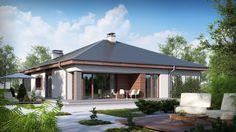 Projekt domu SZ5 Z52 - DOM OZ6-65 - gotowy projekt domu