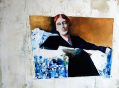 ruth shively paintings | little painting of virgina woolf | Flickr - Photo Sharing! ... | A ...