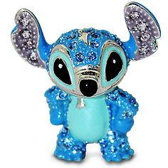 Jeweled Mini Stitch Figurine by Arribas   Figurines & Keepsakes   Disney Store