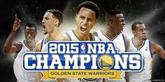 The wait is over – Your Golden State #Warriors are #NBA CHAMPIONS!!! #GSW #NBAFinals