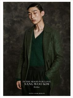 """Sang Woo Kim in """"Movie Star"""" by Fabrizio Scarpa for GQ Italia December 2015 Issue"""