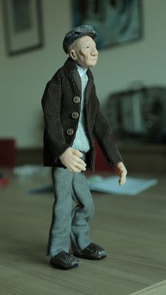 stop motion puppets for a short movie on Behance