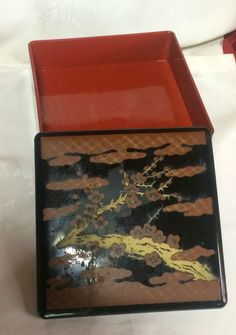 VTG Bento Box Plastic Box Sushi Roll Sushi Container HANAMI