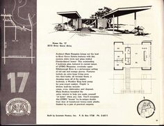 Awesome mid century house plans