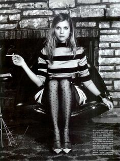 clemency poesy. i don't recall any of her work, but her face is just show-stopping. plus i always have an affinity for the french gals. now put out that cig, missy!