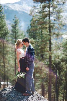 Stunning Mountainside Elopement | Tonie Christine Photography | Bridal Musings Wedding Blog28