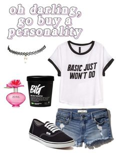 """Basic just won't do"" by atrabiliousx on Polyvore featuring Abercrombie & Fitch, H&M, Vans, Marc Jacobs and Wet Seal"