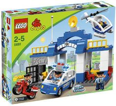LEGO Duplo Ville 5681 City Town Police Station NEW Factory Sealed