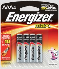 Walmart: Buy $15 in Energizer Products, Get FREE $5 eGift Card
