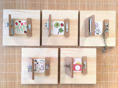 DIY Atelier Montessori : Les Serrures | www.cespetiteschosesdelavie.com, sorties & blog DIY pour enfants