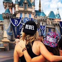 """Started from the bottom now we here."" #disneyland #disneyland60 #rebel #losangeles #girlstrip #drake by taylotif"
