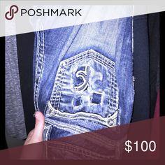 Rock Revivals 27 Size 27 Rock Revival Jeans Boot Cut