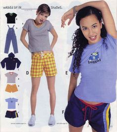 These board shorts. | 23 Of The Most '90s Fashions From The Spring '97 Delia's Catalog