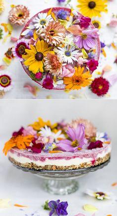 Flower Power Spring Cake - exPress-o
