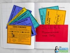Science Measurement Charts-- reference them all year