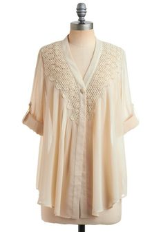 ivory *blouse.* (i feel fancy when i say blouse. and ivory.)