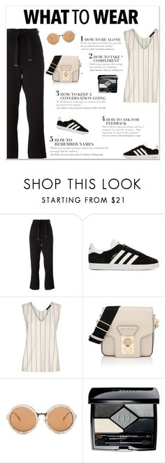 """""""Sporty"""" by tamara-40 ❤ liked on Polyvore featuring Marni, adidas Originals, Jaeger, Karl Lagerfeld, 3.1 Phillip Lim, Christian Dior, casual, sporty and 2017"""