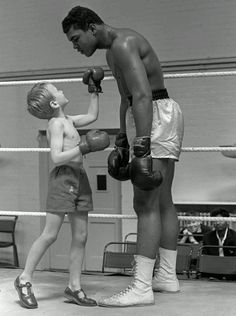 Ali - What a fantastic Sports Person - An inspiration to all.
