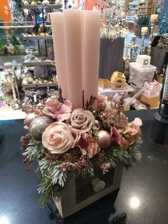 Advent, Table Decorations, Furniture, Home Decor, Decoration Home, Room Decor, Home Furnishings, Home Interior Design, Dinner Table Decorations