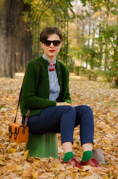 Miss Green: Colourful fall