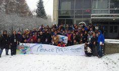 Zweite Etappe im #PeaceTrain: Von Moskau nach Irkutsk - Blogeintrag vom 21. Oktober 2013.