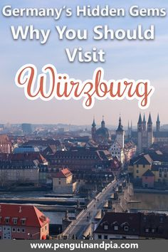 If you're looking for lesser-known places to visit in Germany, Würzburg should be on your bucket list! We share the best things to do in Würzburg as well as great restaurants to try and places to stay at! #würzburg #germany #europe #unknowndestinations #bavaria #traveltips #hiddengems Visit Germany, Germany Travel, Germany Europe, Native American Map, Travel Tips For Europe, Travel Guide, Best Beaches In Europe, Reisen In Europa, Road Trip Hacks