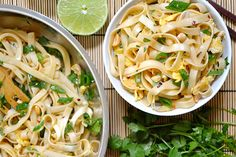 Easy Pad Thai and other  recipes at Epicurious.com
